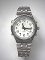 Women's Talking Watch Silver Tone White Face 4 Btn. (Time/Alarm)
