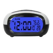 Talking Big Button Clock with Alarm and Temperature w/Loud Voice