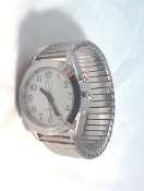 Lady's Talking Alarm Watch SilverTone Time,Month,Day,Date